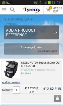 Lyreco apk screenshot