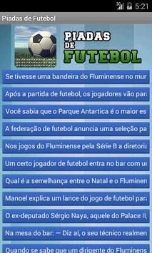 Piadas de Futebol poster