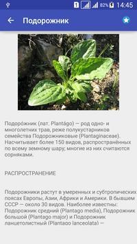 Лекарственные травы и растения apk screenshot