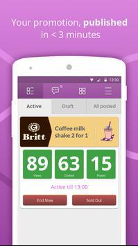 Biiz - merchant app for Piip apk screenshot