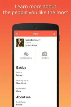 Dating Pro mobile app apk screenshot