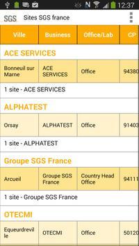 Mes sites apk screenshot