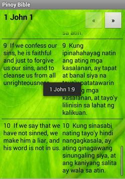 Pinoy Tagalog Bible apk screenshot
