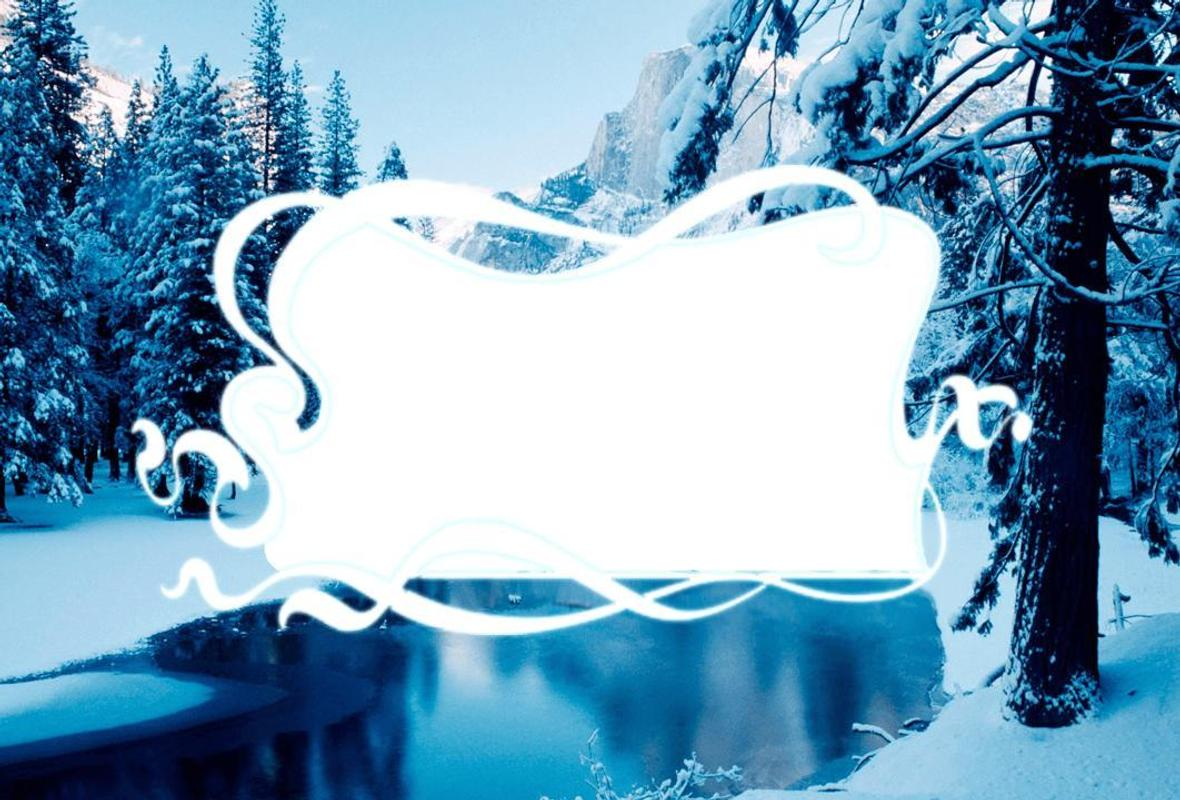 winter frames photo effects apk screenshot