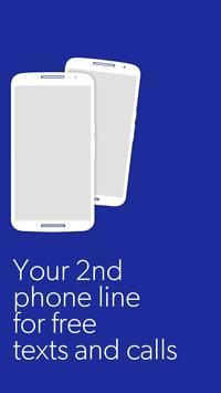 Sideline – Free Phone Number poster