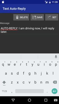Text Auto Reply poster