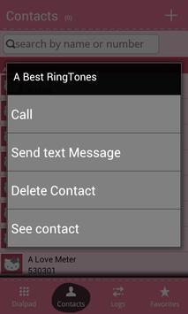 Pink Dialer Contact app free apk screenshot