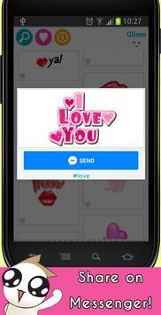 Glimo Animated Emoji Emoticon apk screenshot