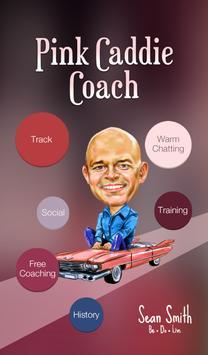 Pink Caddie Success Tracking poster