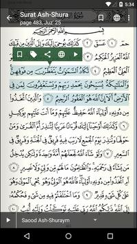 Quran for Android 2016 apk screenshot