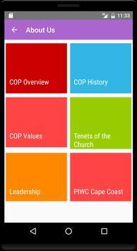 PIWC CAPECOAST apk screenshot