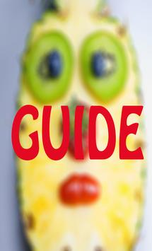Guide Pineapple Face Mask poster