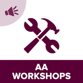 AA 12 Step Workshops Audio icon