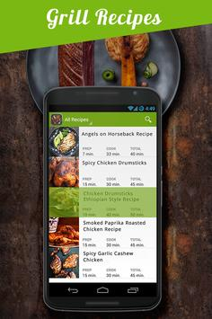 Grill Recipes Grilled Food apk screenshot