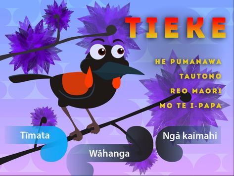 Tieke poster