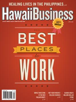 Hawaii Business Magazine poster