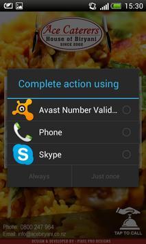 Ace Caterers apk screenshot