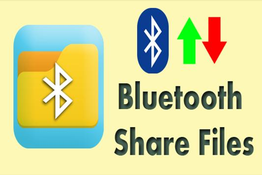 Bluetooth Share Files poster