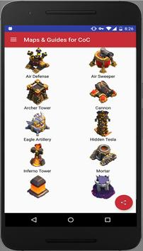 Guides & Layouts for CoC poster