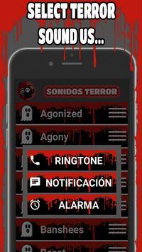 ☠ Sonidos de Terror ☠ apk screenshot