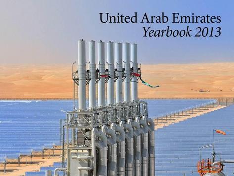 UAE Yearbook 2013 poster