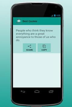Best Quote apk screenshot