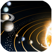 Kids Science Planets Space icon