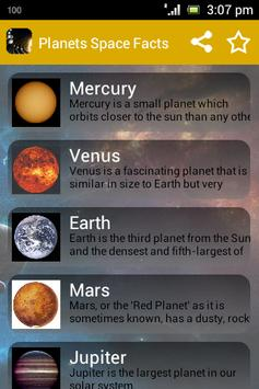Kids Science Planets Space apk screenshot