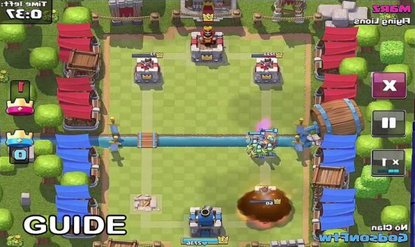 Guide and Cheats Clash Royale apk screenshot