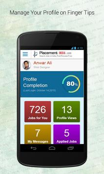 PlacementIndia.com- Job Search apk screenshot