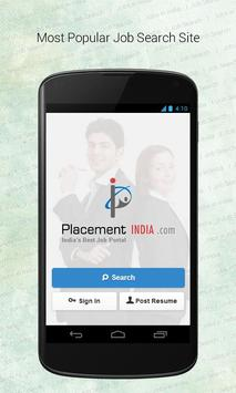 PlacementIndia.com- Job Search poster