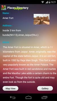 Places Directory Jaipur apk screenshot