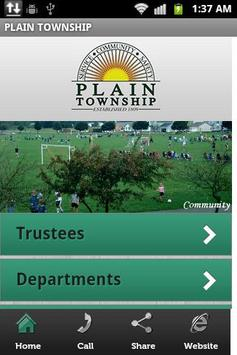 Plain Township Mobile App poster