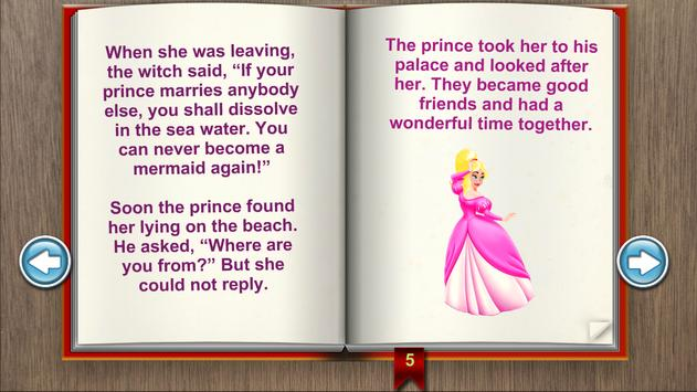 The Little Mermaid Books apk screenshot
