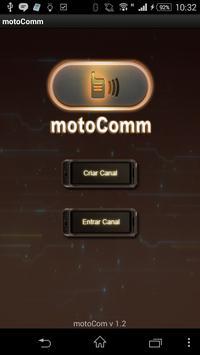 motoComm poster