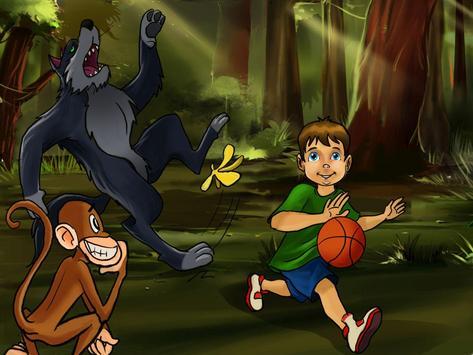 Basketball with a Wolf apk screenshot