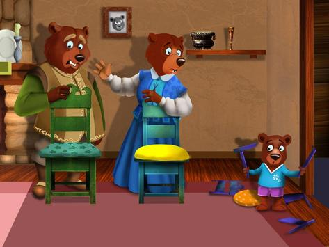 Goldilocks and the Three Bears apk screenshot