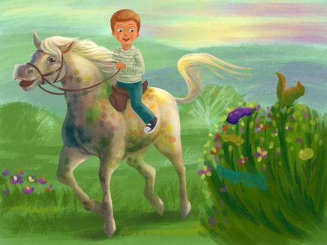 Wild Horses I poster