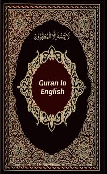 Holy Quran In English poster