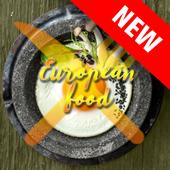 european food icon