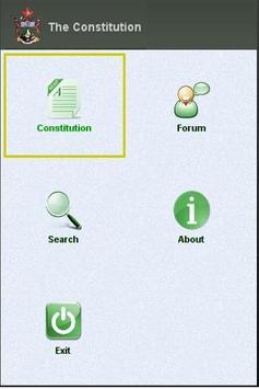 Zimbabwe Constitution poster