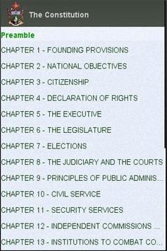 Zimbabwe Constitution apk screenshot
