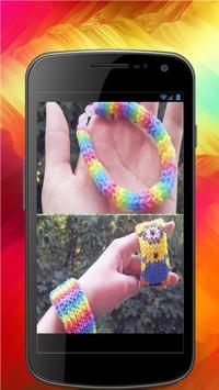 Weaving elastic bands apk screenshot