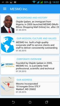 MESMO Inc poster