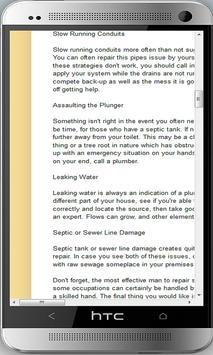 Plumbing Tips apk screenshot