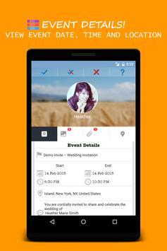 Invitation Maker & City Events apk screenshot