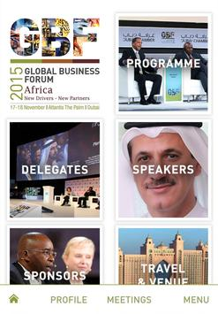 Africa Global Business Forum poster