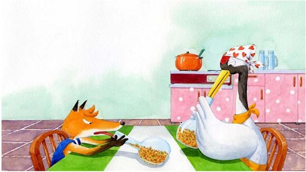 The Fox and the Stork apk screenshot