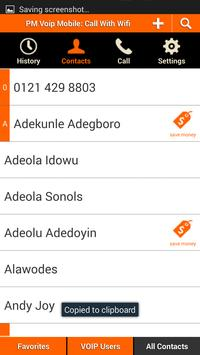 Voip For Android Mobile apk screenshot