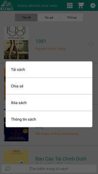 KOMO Ebook apk screenshot